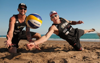 Doppler/Horst first response to the Swatch Beach Volleyball Major Series