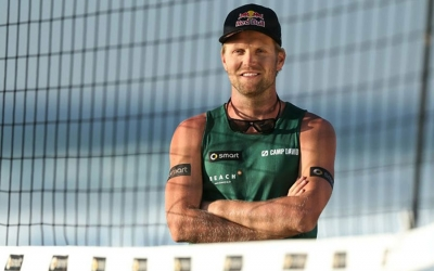 Olympic Champion Julius Brink becomes Ambassador for Swatch Major Series