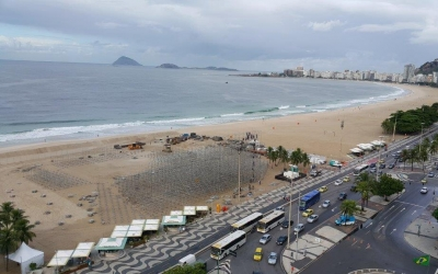 Copacabana's Olympic makeover begins!