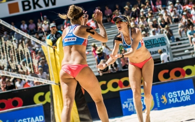 Kerri Walsh Jennings back on the road to Rio – via Gstaad