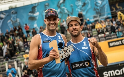 Dalhausser and Lucena reign the Rothenbaum