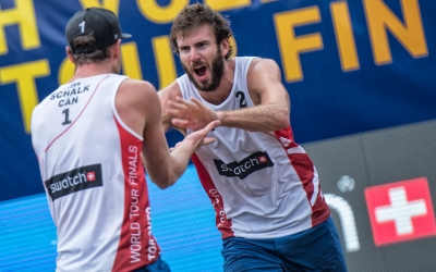 Saxton/Schalk aim to keep things steady in the semis